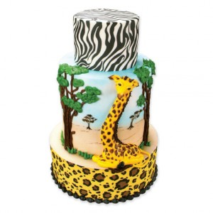How to Make a Safari Cake