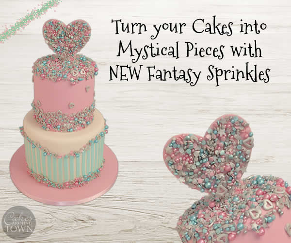 Fantasy Sprinkles by Cakes Around Town