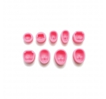 10 Set Face Silicone Mould