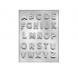 1.25 ALPHABET chocolate mould