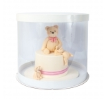 12inch PVC Round Cake Box - BULK Carton of 20 - PICK UP ONLY