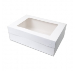 14 x 16  Rectangle Cake Box (15cm high) Half Slab - PICK UP ONLY
