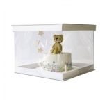14inch PVC Display Cake Box (30cm High) SINGLE