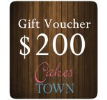$200.00 Gift Certificate For Cakes Around Town