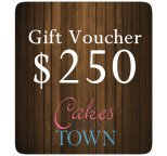 $250.00 Gift Certificate For Cakes Around Town