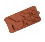 2D High Heel Shoe Chocolate Mould (5 cavity)