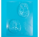 3D Brain Chocolate Mould