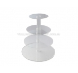 4 Tier Acrylic Cupcake Stand