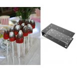 Rectangular Acrylic CAKE POP Stand (12 pops)