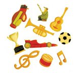 FMM Music and Sport Tappit Cutter Set
