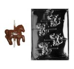 Carousel Horse Lollipop Chocolate Mould