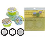 Cupcake/Cookie Texture Tops Set of 3 - WHIMSY BLOOMS - DISCONTINUED