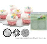 Cupcake/Cookie Texture Tops Set of 3 - GEOMETRIC
