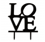 Acrylic Cake Topper - LOVE