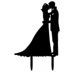 Acrylic Cake Topper - Wedding Couple