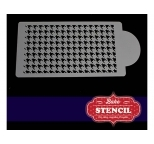 Bake Stencil - HOUNDSTOOTH SIDE - DISCONTINUED