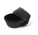 Black STANDARD Cupcake Cases 40p pack
