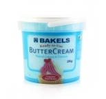 Buttercream Icing Ready To Use - Baby Blue Vanilla by Bakels 2kg - BEST BEFORE