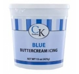 Buttercream Icing Ready-To-Use BLUE 425g - BEST BEFORE