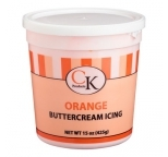 Buttercream Icing Ready-To-Use ORANGE 425g