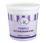 Buttercream Icing Ready-To-Use PURPLE 425g