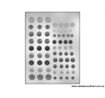 BUTTON ASSORTMENT chocolate mould