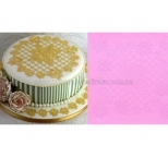 Claire Bowman 3D Cake Lace Mat - RING OF ROSES