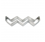 Cookie Cutter - Chevron Pattern 5.5 (14cm)