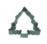 COOKIE CUTTER - Christmas Tree GREEN RESIN 3.5