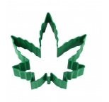 COOKIE CUTTER - Marijuana Leaf GREEN RESIN 4.0