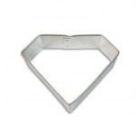 Cookie Cutter - Super Hero Badge (or Diamond) 3.54