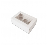 MEDIUM Cupcake Box - with insert & window (holds 6)