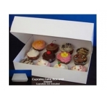 STANDARD Cupcake Box - with insert & window (holds 12)