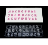 Cutter Clikstix - GOTHIC UPPERCASE - DISCONTINUED