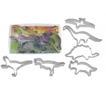 Dinosaur Cookie Cutters Set (6pc)