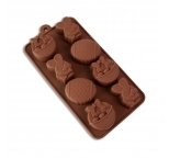 Easter Silicone Mould Large 8 Cavity