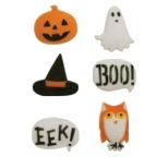 Edible Cupcake Decorations Spooktacular Assortmement 12 pieces