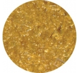EDIBLE GLITTER FLAKES - Gold - 28g Bottle