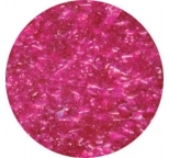 EDIBLE GLITTER FLAKES - Pink - 28g Bottle