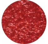EDIBLE GLITTER FLAKES - Red - 28g Bottle