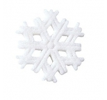 Edible Sugar Decorations Snowflakes - packs of 12