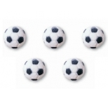 Edible Sugar Decorations Soccer Balls (2D) - packs of 12