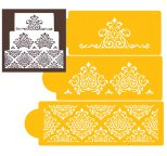 Elaines Cake Stencil Set of 3