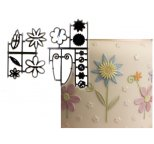 Fantasy Flowers Patchwork Cutters & Embosser