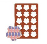 A4 Sized Silicone Chablon Mat FLOWER