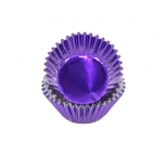 Foil STANDARD cupcake cases - PURPLE BULK PACK 500