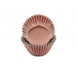 Foil MEDIUM cupcake cases - BROWN BULK 500 PACK (H:30mm)
