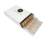 GOLD Bullet Candles - Bulk Box of 144