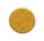 Gold Cachous Pearls 3mm BULK 1kg