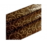 Golden Swirls Chocolate Transfer Sheet